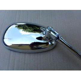 Tükör M10 krómozott ovális