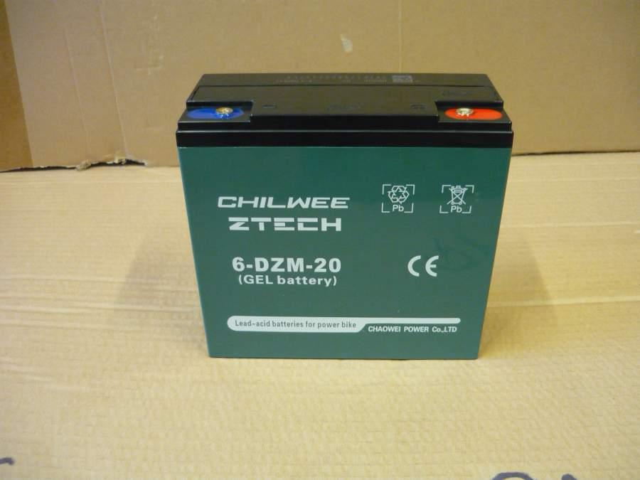 Akkumulátor  12V 20Ah 2HR elektromos kerékpárokhoz