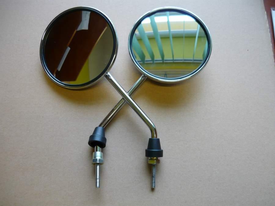 Tükör krómozott M6