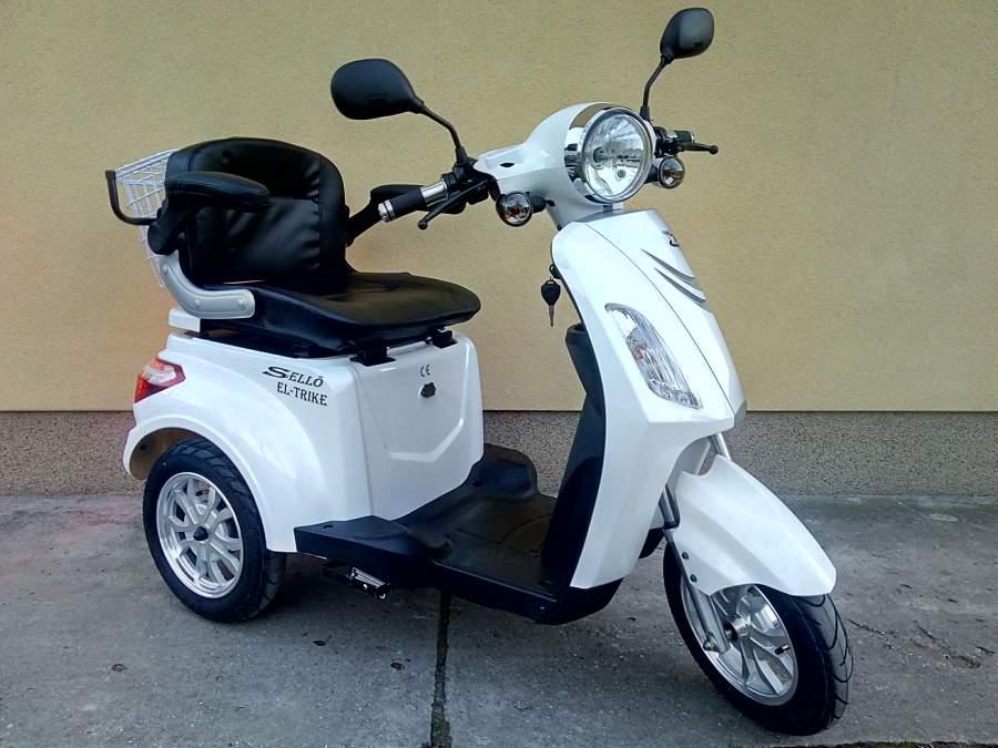 El-Trike elektromos tricikli