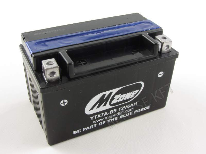 Akkumulátor  MZone YTX7A-BS 12V 6 Ah