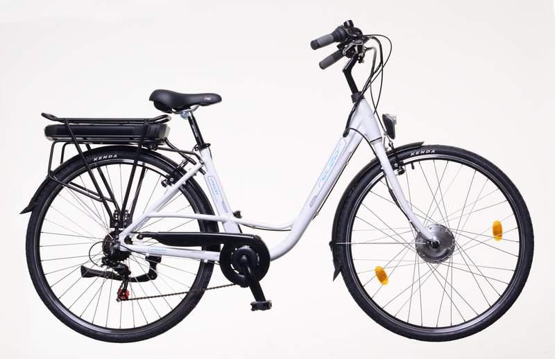 Neuzer E-City Zagon női 18 MXUS elektromos kerékpár