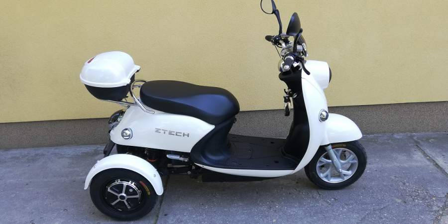 ZT-63 dupla motoros elektromos tricikli