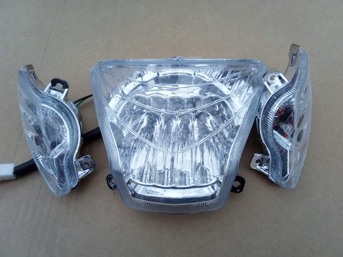 Lámpa első ZT-10 ledes 48 V