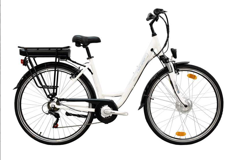 Neuzer E-Trekking MXUS elektromos kerékpár tel. villával matt fehér